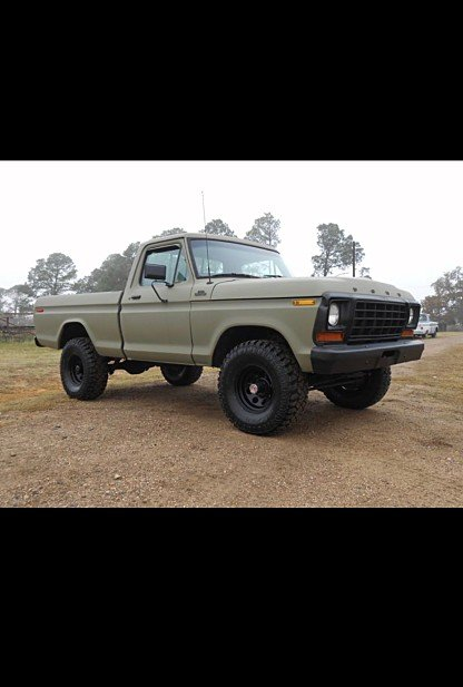 1978 Ford F150 4x4 Regular Cab for sale 100973554