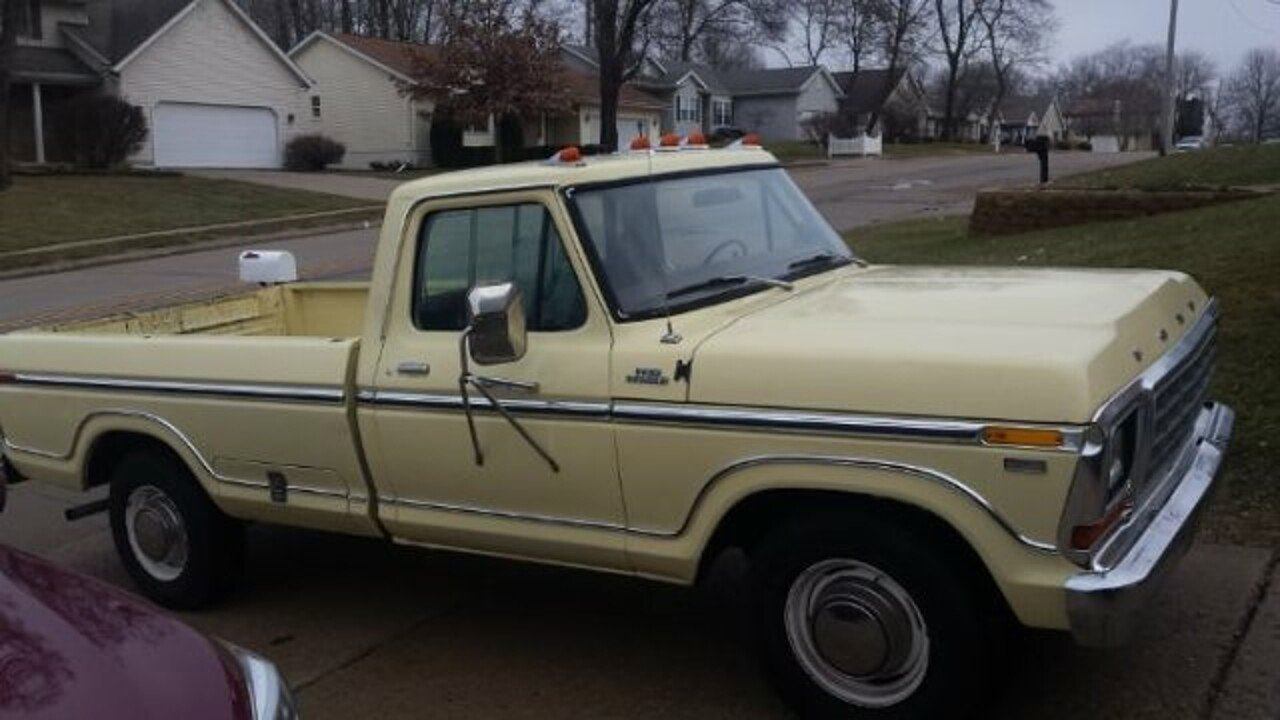 1978 Ford F250 For Sale Near Cadillac Michigan 49601 Classics On 1970 Ranger Camper Special 100952709