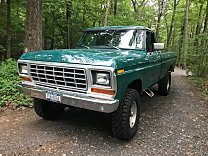 1978 Ford F250 4x4 Regular Cab for sale 101004544
