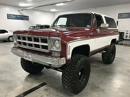 1978 GMC Jimmy 4WD for sale 100905468