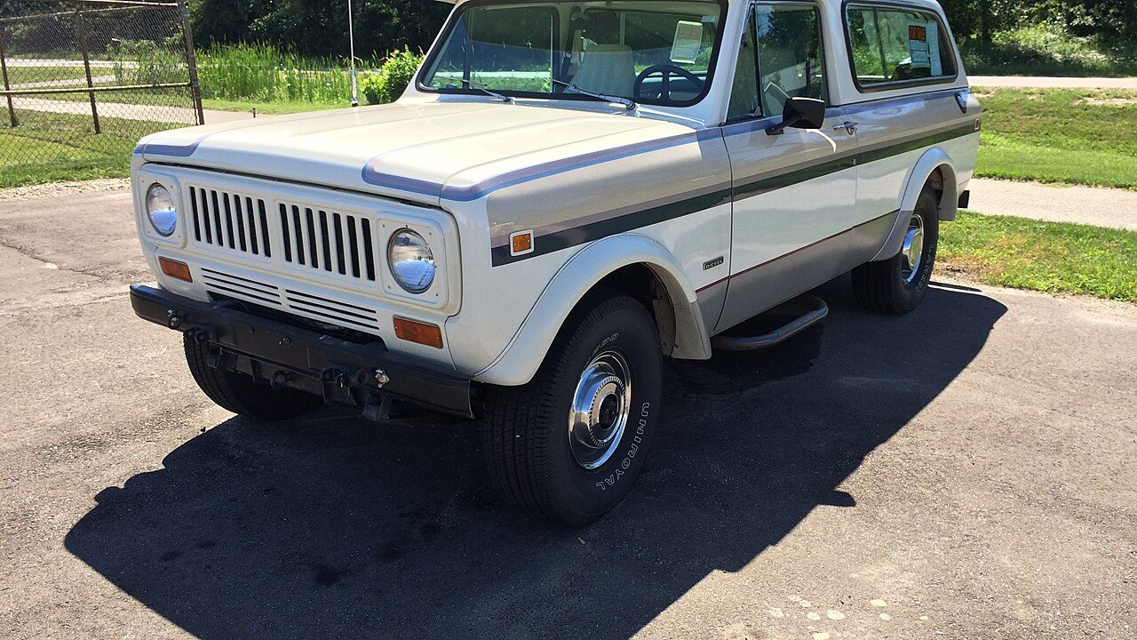 1978 international harvester scout for sale near holland michigan 49424 classics on autotrader. Black Bedroom Furniture Sets. Home Design Ideas
