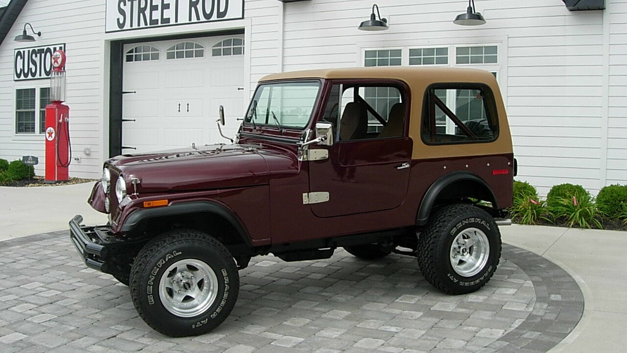 Jeep Cj 7 Classics For Sale On Autotrader 1985 Engine Wiring Harness 1978