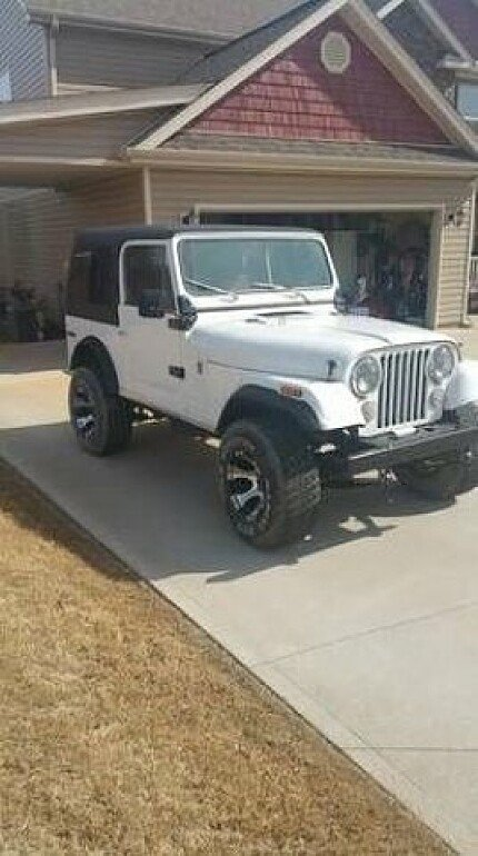 1978 Jeep CJ-7 for sale 100829391