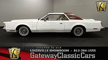 1978 Lincoln Continental for sale 100844512