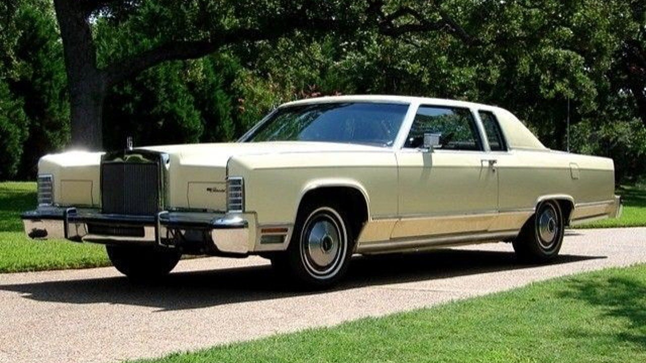 1978 Lincoln Continental for sale 100831575