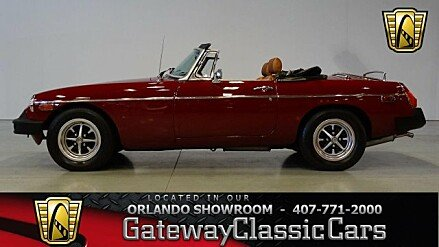 1978 MG MGB for sale 100921805