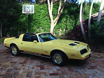 1978 Pontiac Firebird for sale 100766375