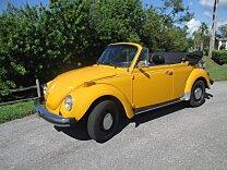1978 Volkswagen Beetle Convertible for sale 100967691