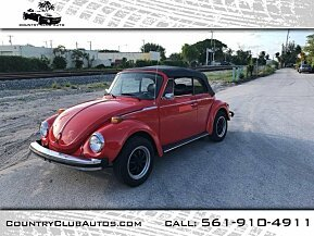1978 Volkswagen Beetle for sale 100979979