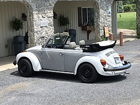 1978 Volkswagen Beetle Convertible for sale 101020670