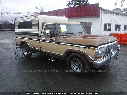 1978 ford F150 for sale 101015904