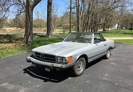 1978 mercedes-benz 450SL for sale 101000573