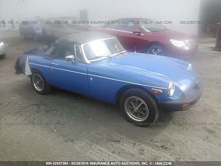 1978 mg MGB for sale 101016194
