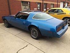 1978 pontiac Firebird for sale 100829636