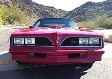 1978 pontiac Firebird for sale 100885300