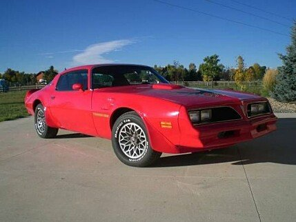 1978 pontiac Firebird for sale 100960327