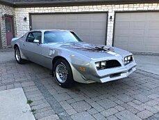 1978 pontiac Firebird for sale 100985606
