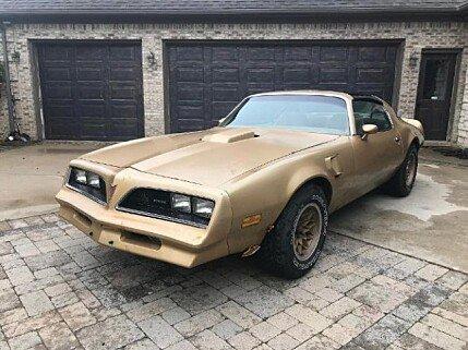 1978 pontiac Firebird for sale 101004562