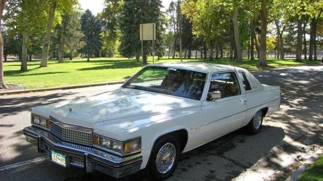 1979 Cadillac De Ville for sale 100845511