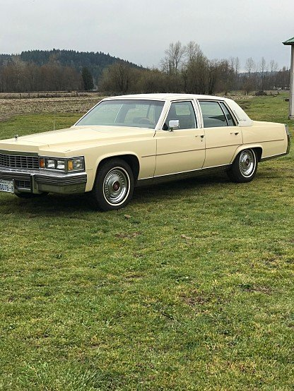 1979 Cadillac Fleetwood Brougham Sedan for sale 100984926