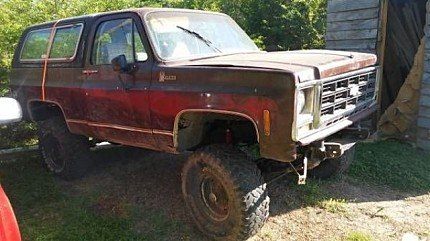 1979 Chevrolet Blazer for sale 100827088