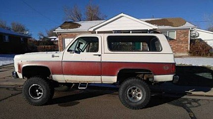 1979 Chevrolet Blazer for sale 100846221