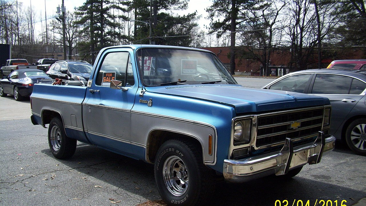 1979 chevrolet c k trucks for sale near atlanta georgia for Classic and american cars for sale