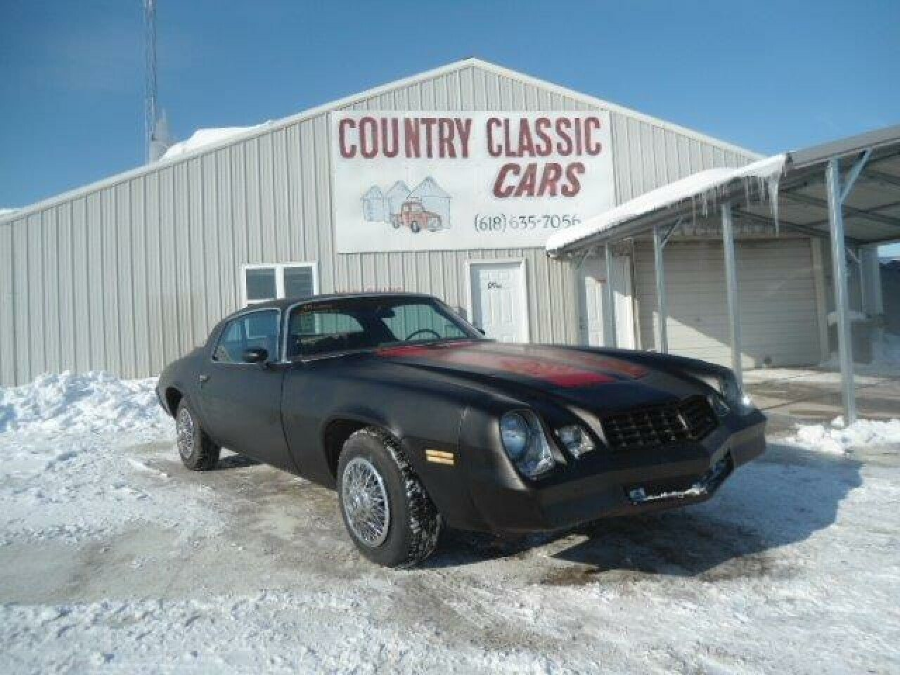 1979 Chevrolet Camaro For Sale Near Staunton Illinois