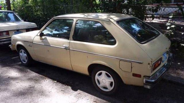 1980 chevy chevette for sale