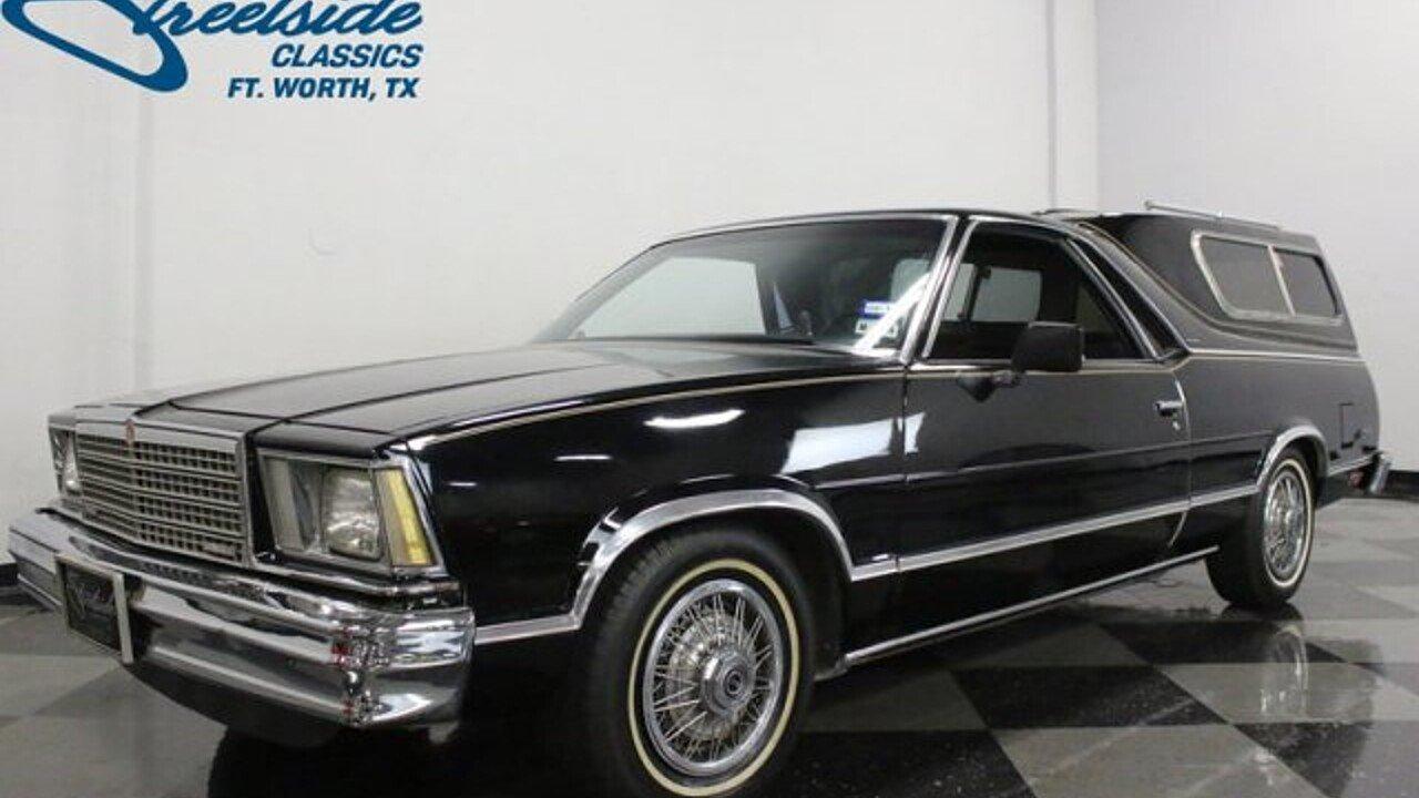 1979 Chevrolet El Camino for sale near Fort Worth, Texas 76137 ...