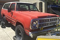 1979 Dodge Ramcharger for sale 100870092