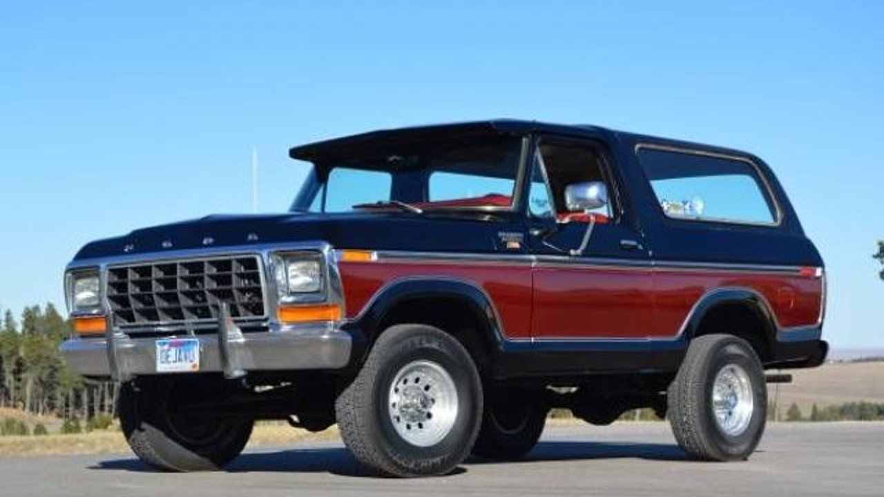 1979 ford bronco for sale near cadillac michigan 49601 classics on autotrader. Black Bedroom Furniture Sets. Home Design Ideas