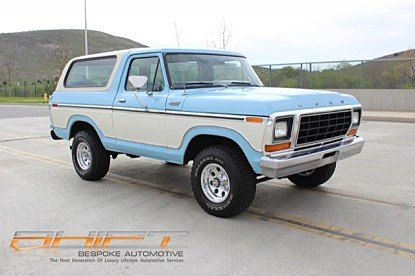 1979 Ford Bronco for sale 100969439