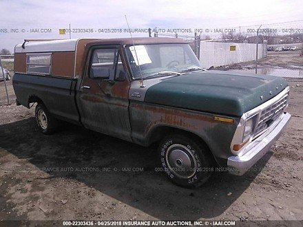 1979 Ford F100 for sale 101016124