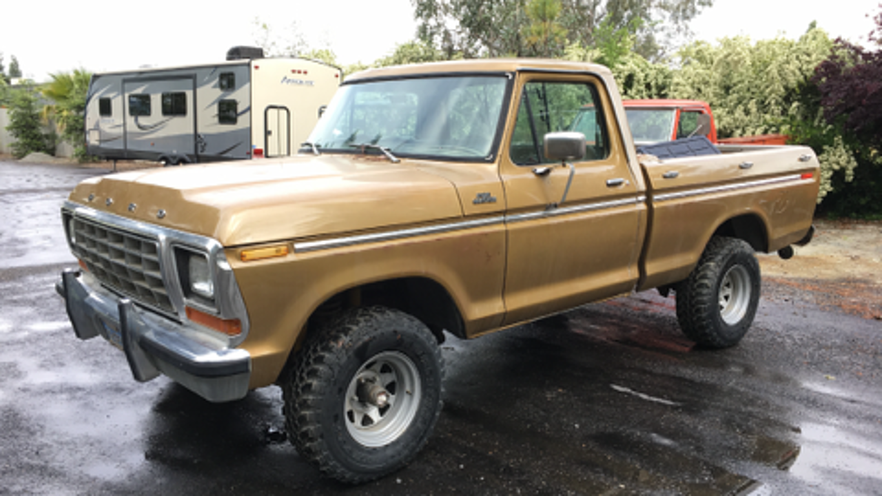 1979 ford f150 4x4 regular cab for sale near fresno. Black Bedroom Furniture Sets. Home Design Ideas