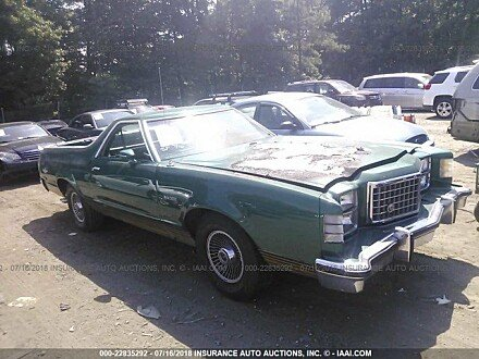 1979 Ford Ranchero for sale 101015900