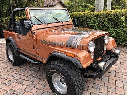 jeep cj 7 classics for sale classics on autotrader. Black Bedroom Furniture Sets. Home Design Ideas