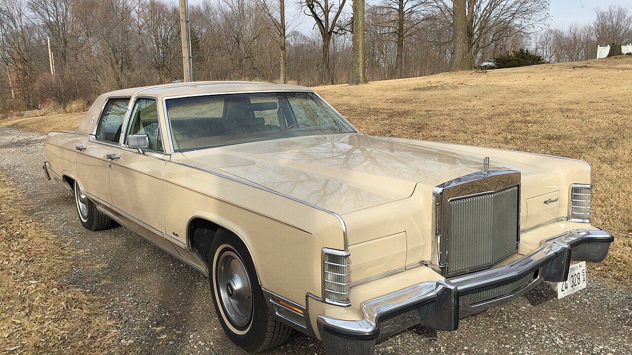 1979 Lincoln Continental Signature for sale 100955635