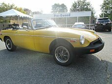1979 MG MGB for sale 100832639