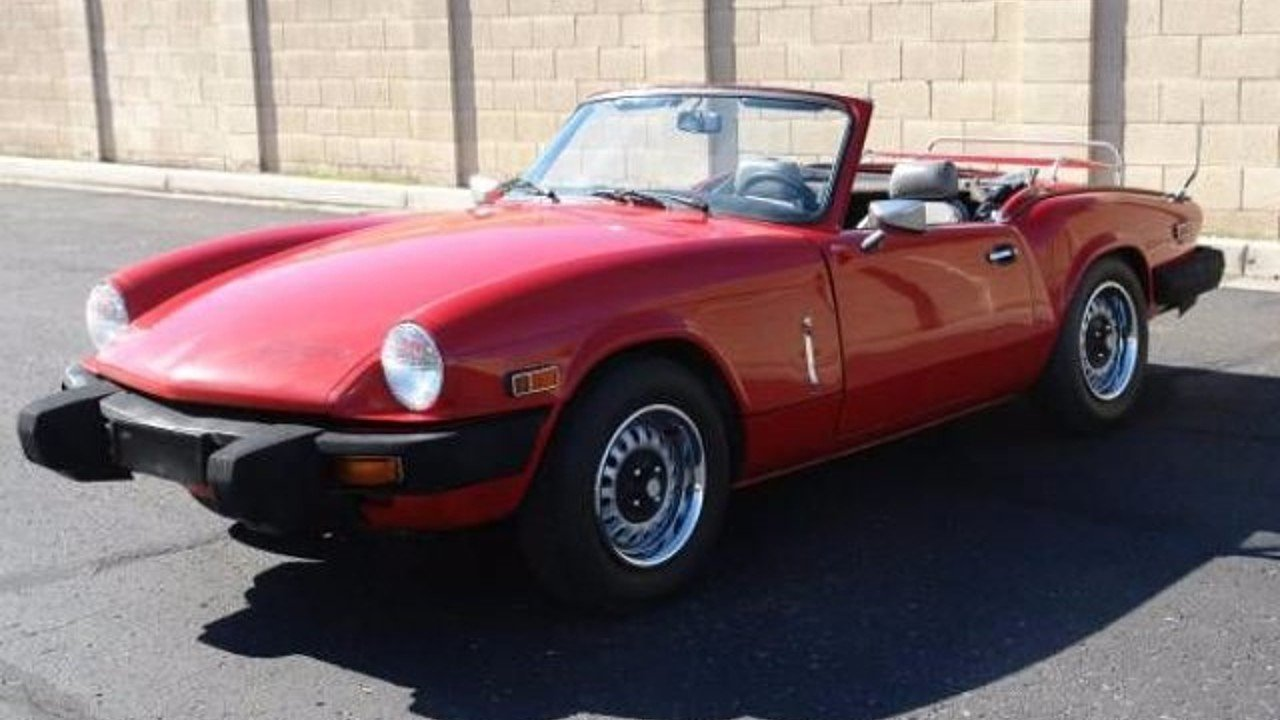 1979 triumph spitfire for sale near cadillac michigan 49601 classics on autotrader. Black Bedroom Furniture Sets. Home Design Ideas