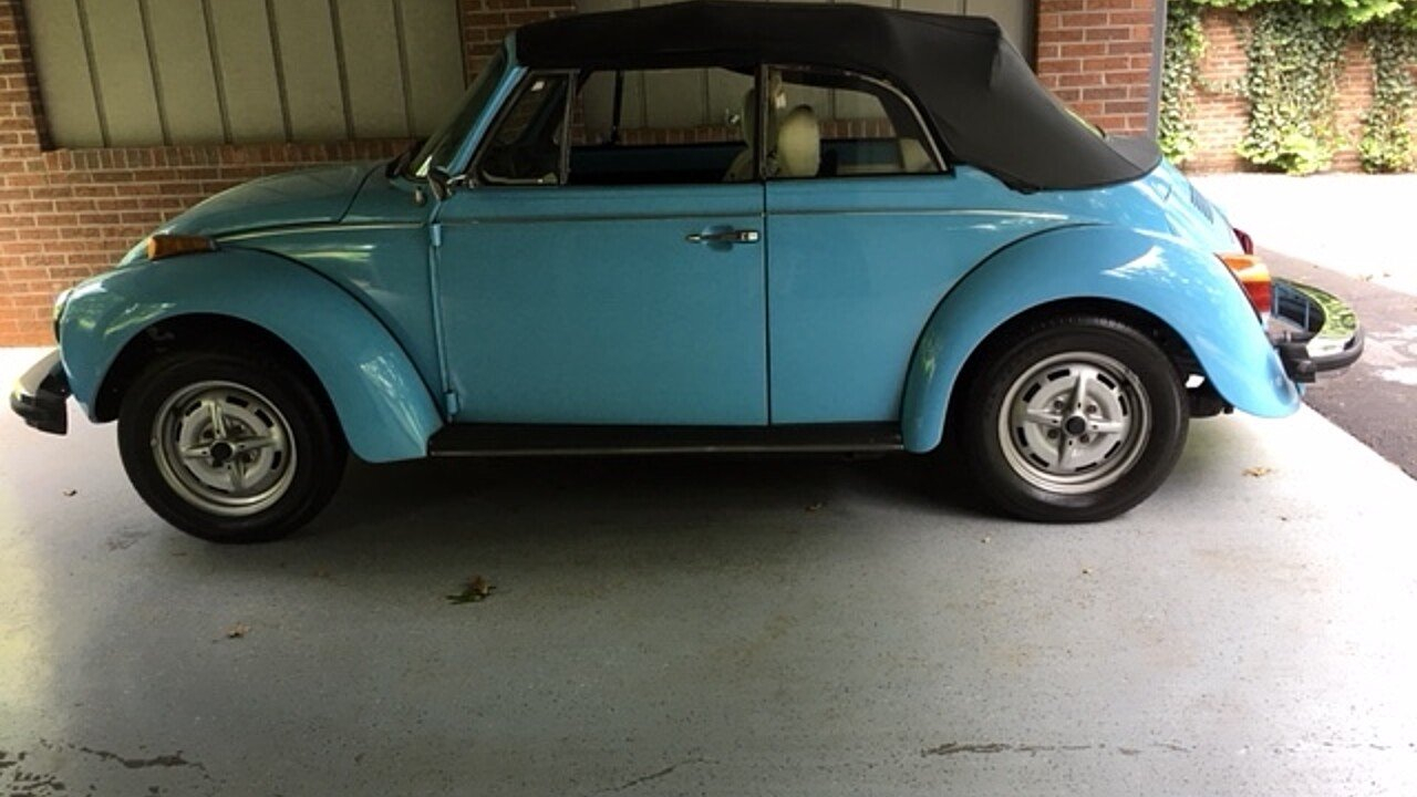 1979 Volkswagen Beetle Convertible for sale 101000967