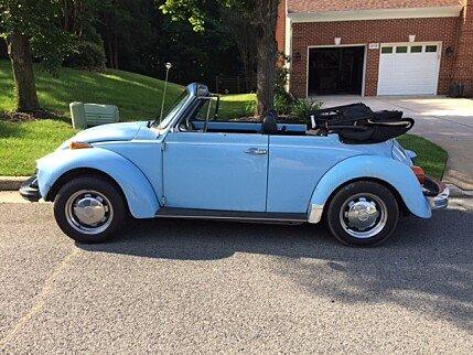 1979 Volkswagen Beetle Convertible for sale 100997355