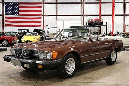 1979 mercedes-benz 450SL for sale 101031236