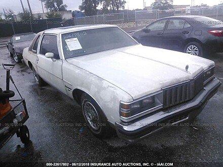 1979 pontiac Bonneville for sale 101016224