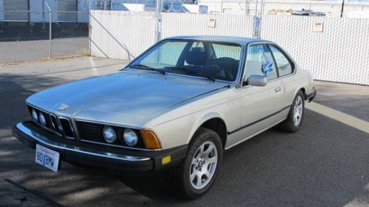 1980 BMW 633CSi for sale 100974502