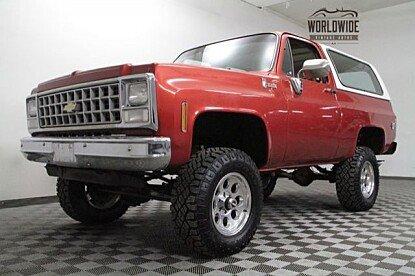 1980 Chevrolet Blazer for sale 100969091
