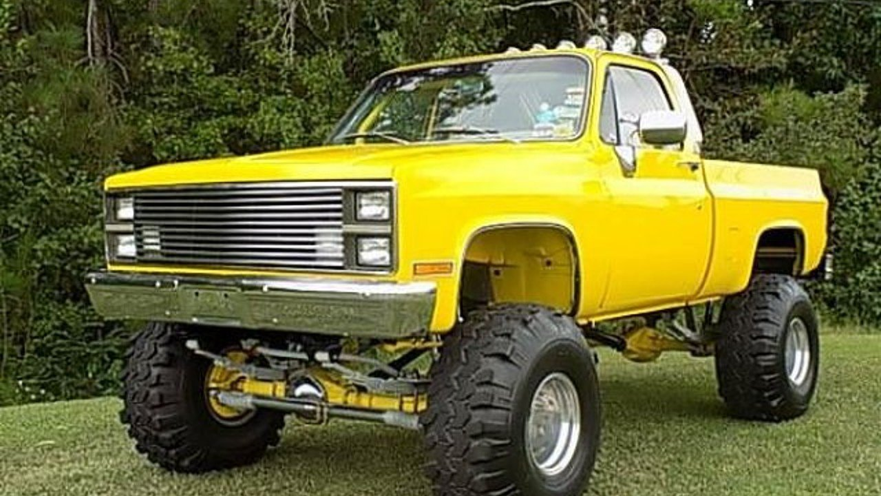 Truck chevy 1980 truck : 1980 Chevrolet C/K Truck for sale near Cadillac, Michigan 49601 ...