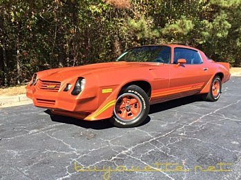 1980 Chevrolet Camaro for sale 100821600