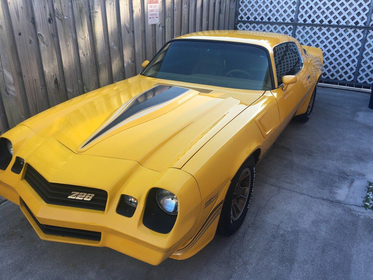 1980 Chevrolet Camaro For Sale Near Miami Florida 33147
