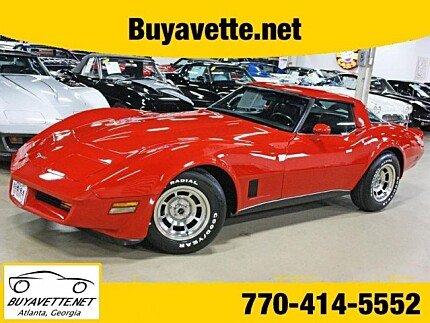 1980 Chevrolet Corvette for sale 100995868